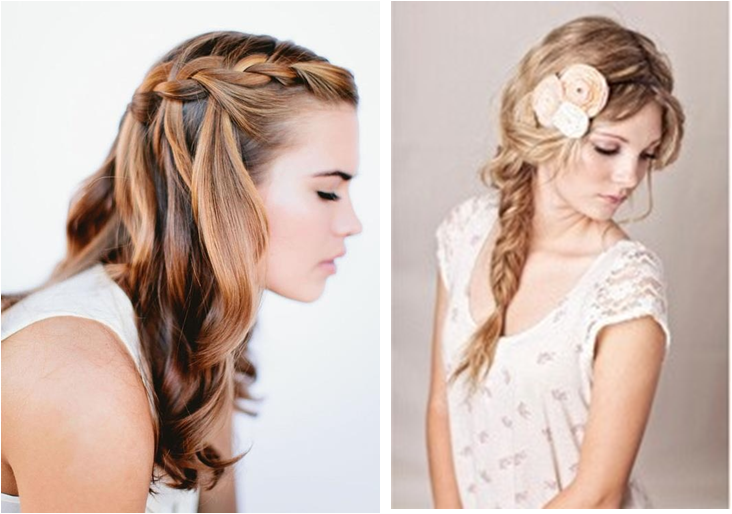 Peinados para ir de invitada a una comunion peinado - Peinados para hacerse una misma ...