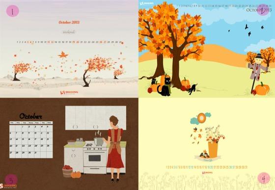 Desktop Wallpaper October