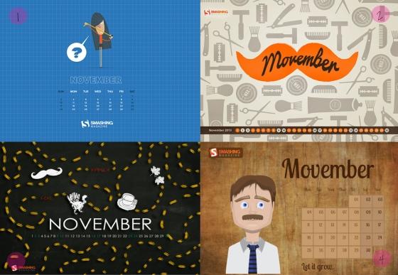 Desktop Wallpaper November