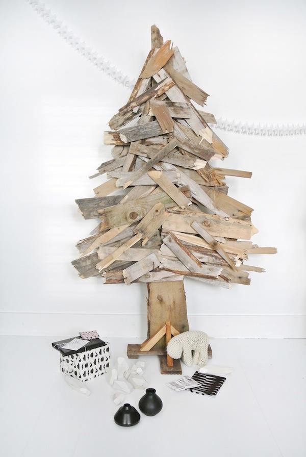 Rboles de navidad diferentes y hechos en casa pepita - Arbol de navidad hecho en casa ...