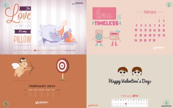 Desktop Wallpaper Febrero