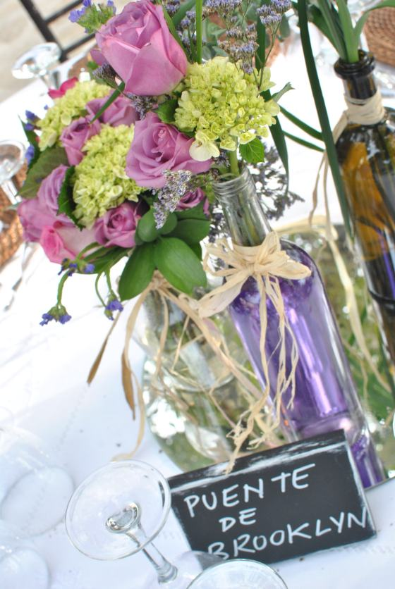 Brooklyn Bridge Table name wedding