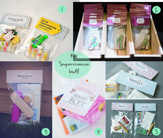 Kit supervivencia para bodas