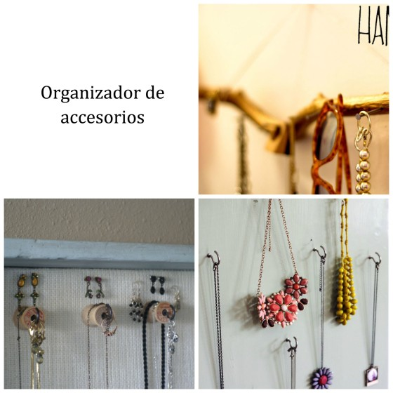 3 ideas Organizador de Accesorios