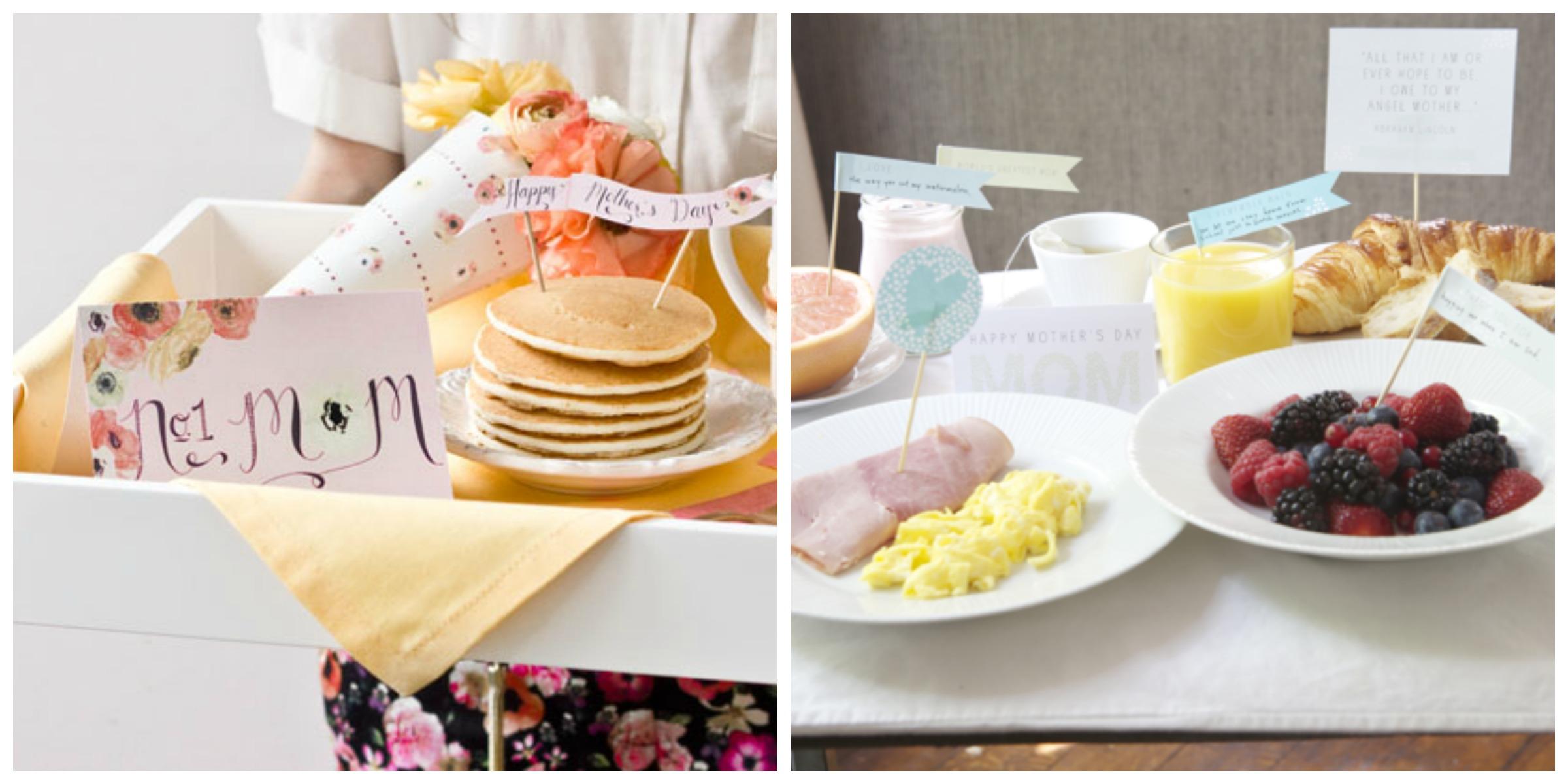 InvitaciÓn A Desayuno DÍa De Las Madres: Ideas Para El Día De La Madre