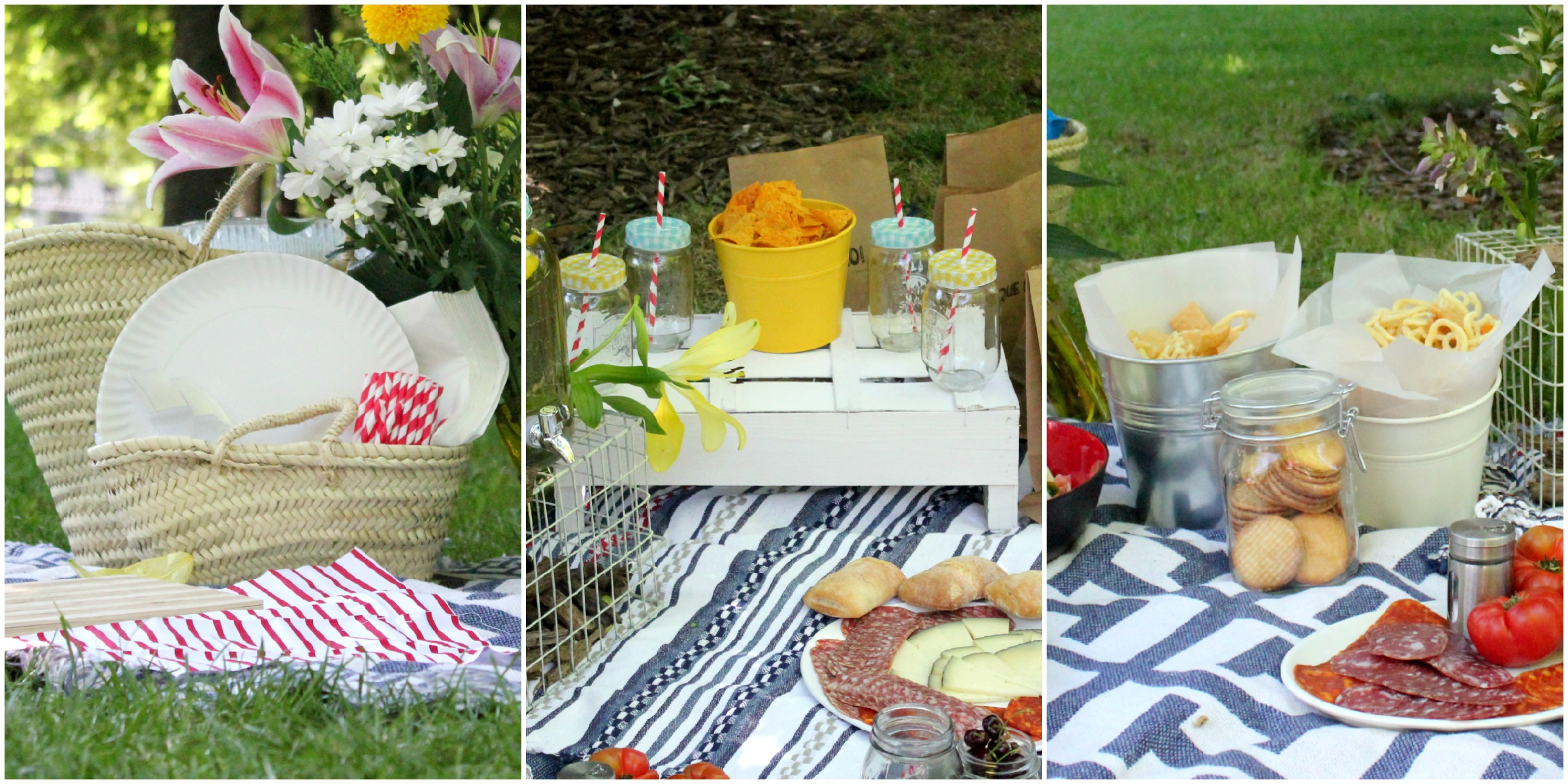 Un picnic de cumplea os pepita pancracia - Decoracion del jardin ...