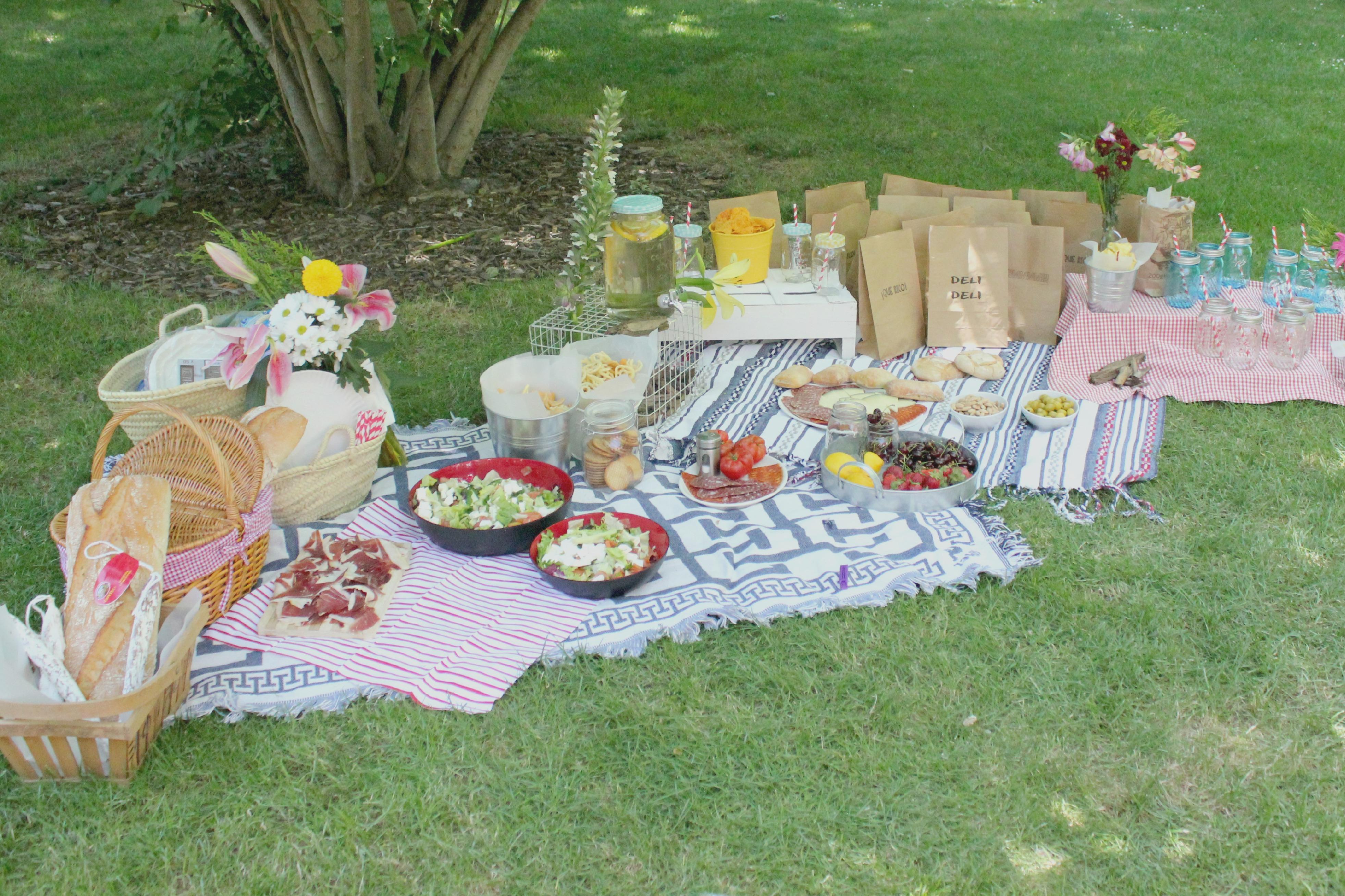 Un picnic de cumplea os pepita pancracia - Un jardin para mi ...