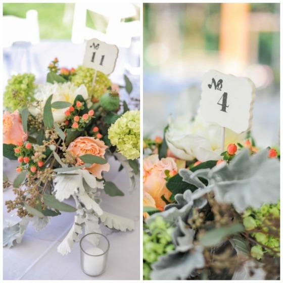 mesa numero boda