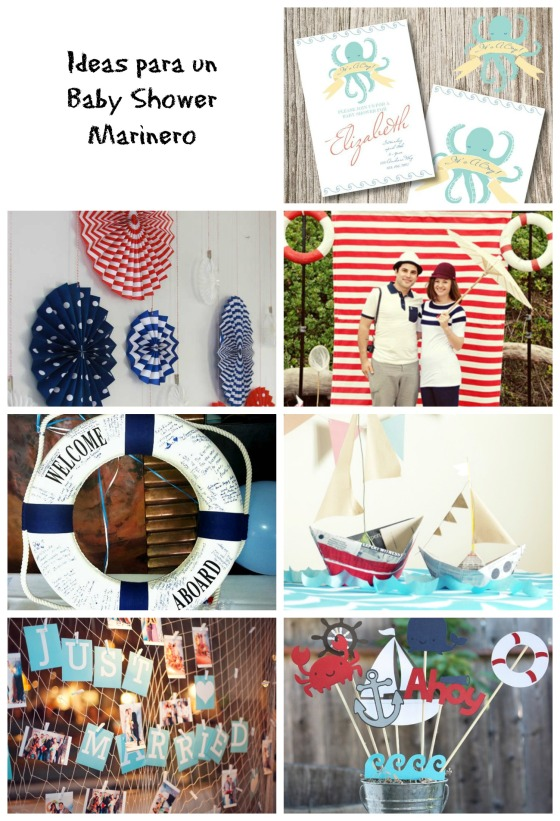 Ideas Baby Shower Marinero